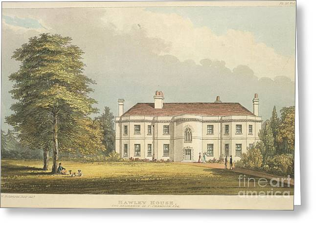 Hawley House Greeting Card by British Library