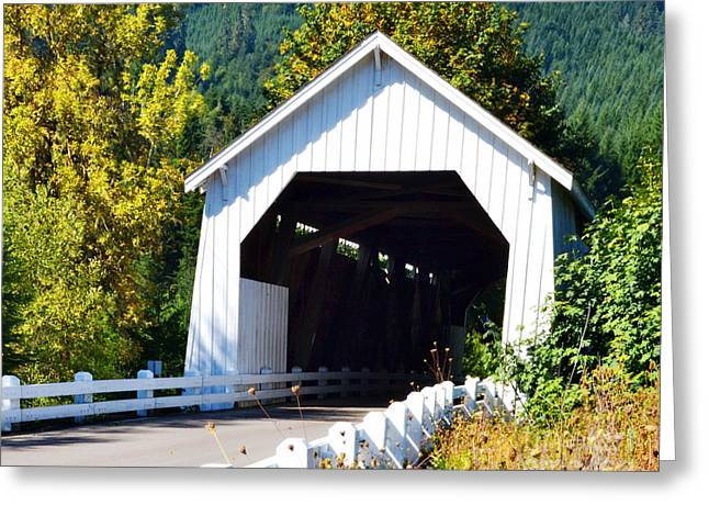 Hayden Covered Bridge Greeting Card