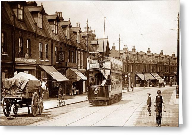 Haydons Road Wimbledon London England Greeting Card by The Keasbury-Gordon Photograph Archive
