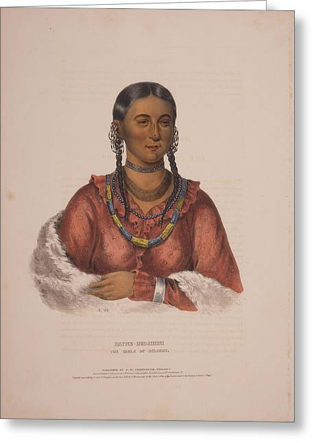 Hayne-hudjihini, The Eagle Of Delight  A.h.  Drawn, Printed Greeting Card