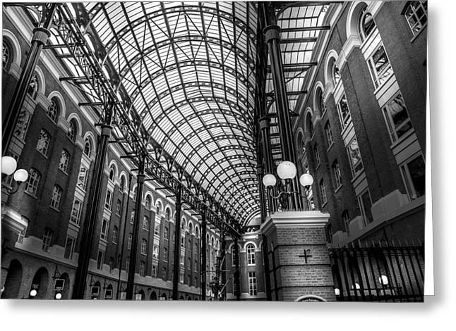 Hay's Galleria Greeting Card by S J Bryant