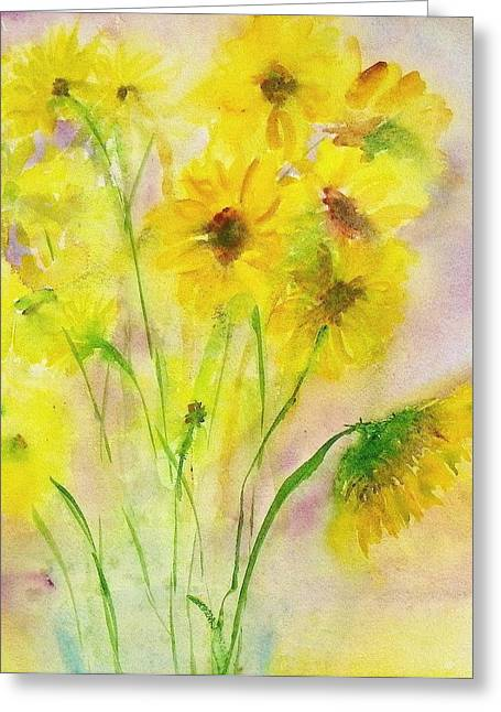 Hazy Summer Greeting Card