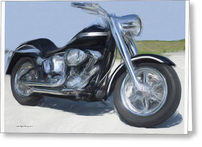Hd 100th Anniversary Custom Fatboy Greeting Card