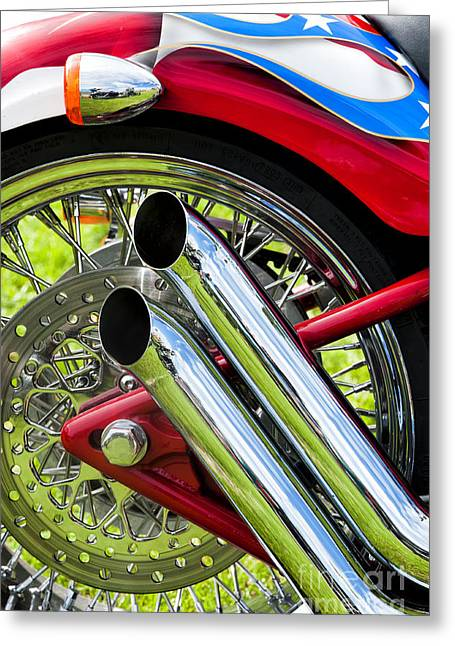 Hd Custom Drag Pipes Greeting Card