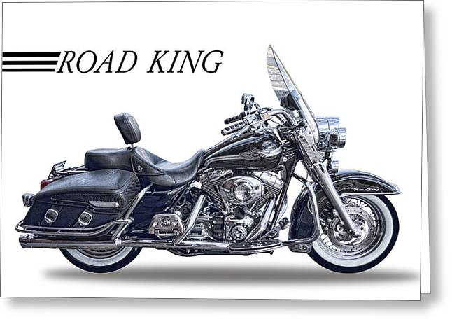 H D Road King Greeting Card