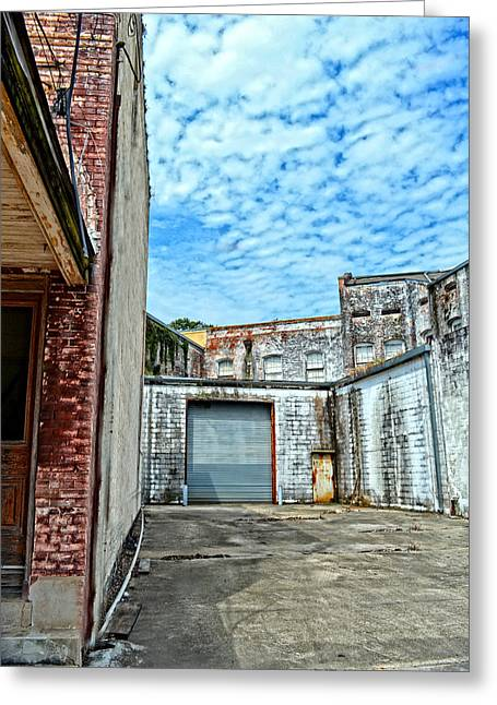 Hdr Alley Greeting Card