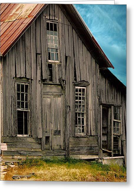 Shack Of Elora Tn  Greeting Card
