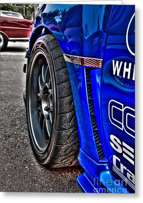 Hdr Subaru Wrx Sti Greeting Card by Jeremy Brown