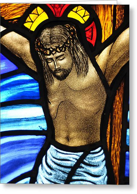He Hung In There Greeting Card by Karen Showell