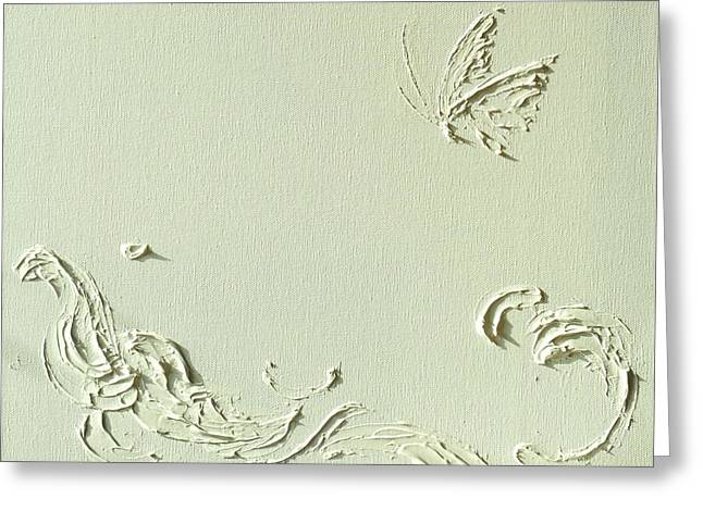 He Protects I Greeting Card by Wings  Mok