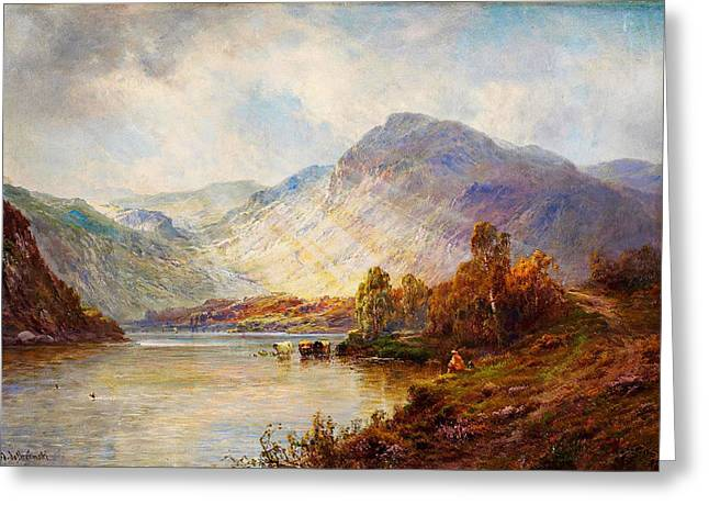 Head Of Loch Lomond Greeting Card by Celestial Images