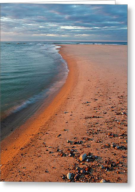 Head Of The Meadow Beach, Cape Cod Greeting Card by Jerry and Marcy Monkman