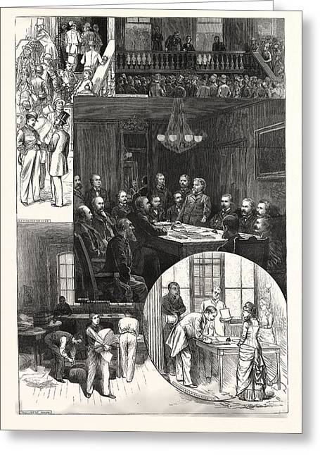 Head-quarters Of The National Republican Committee, Fifth Greeting Card