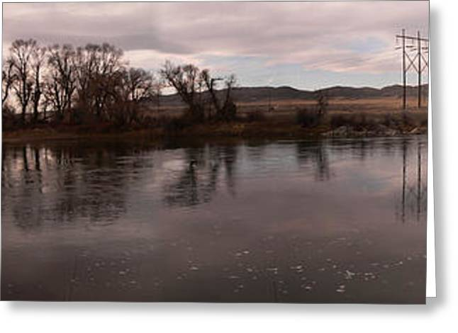 Headwaters Of The Missouri River Greeting Card by David Bearden