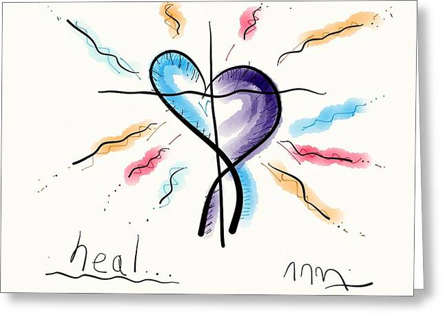 Heal... Greeting Card