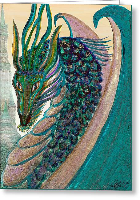 Healing Dragon Greeting Card