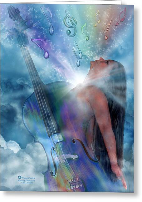 Healing Expression Greeting Card