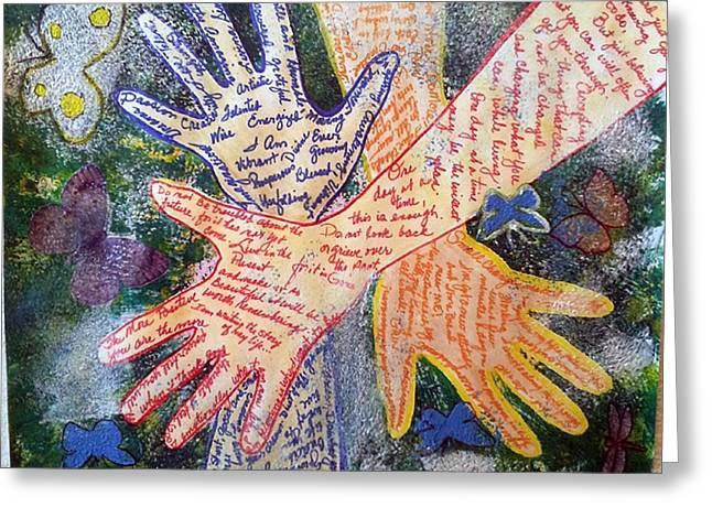 Healing Hands Greeting Card