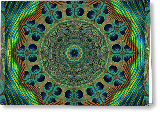Healing Mandala 19 Greeting Card