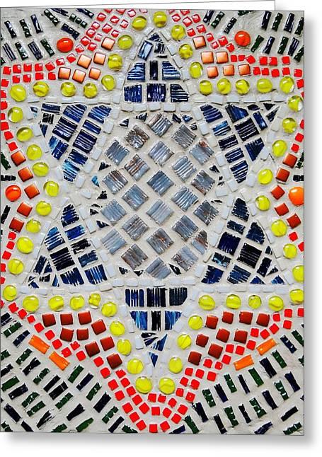 Healing Star Greeting Card by Lisa Brandel