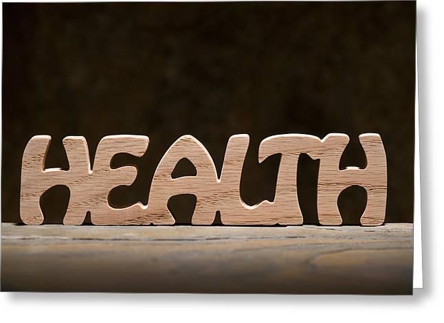 Health Greeting Card