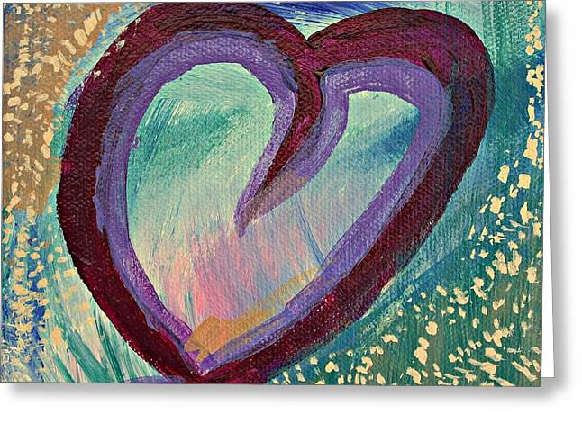 Heart 3 Greeting Card