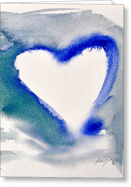 Heart And Soul Greeting Card by Kimberly Maxwell Grantier