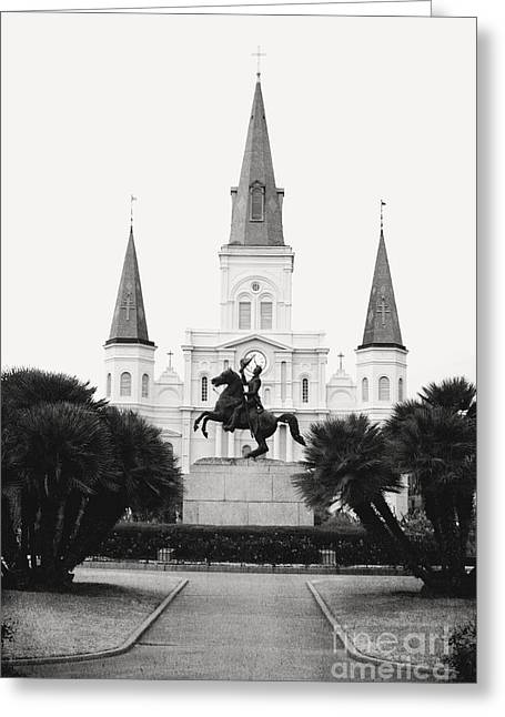 Heart And Soul Of New Orleans Greeting Card