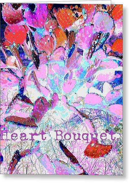 Heart Bouquet  Greeting Card by ARTography by Pamela Smale Williams