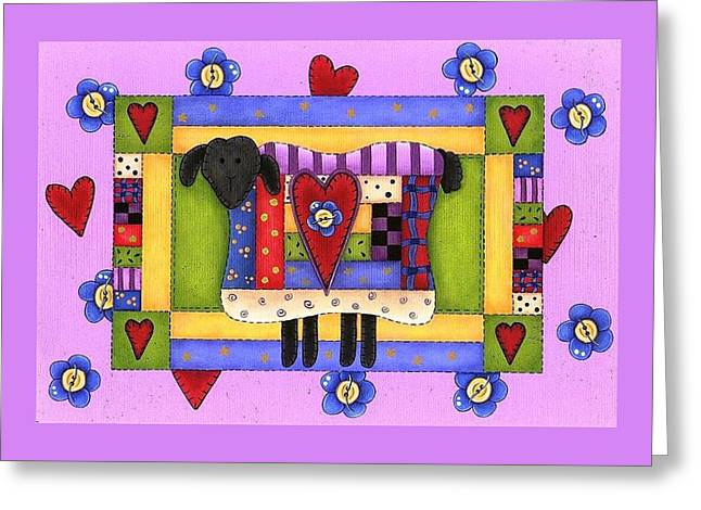 Heart For Ewe Greeting Card