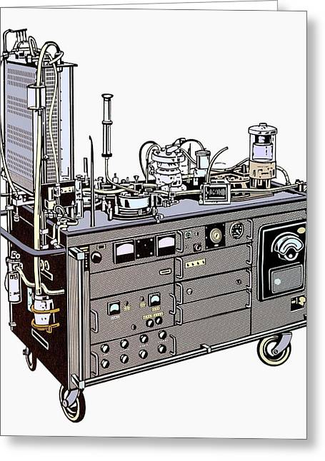 Heart-lung Machine Greeting Card by Science Photo Library