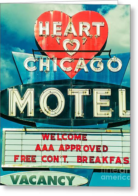 Heart 'o' Chicago Greeting Card