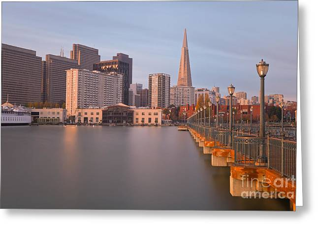 Greeting Card featuring the photograph Heart San Francisco by Jonathan Nguyen