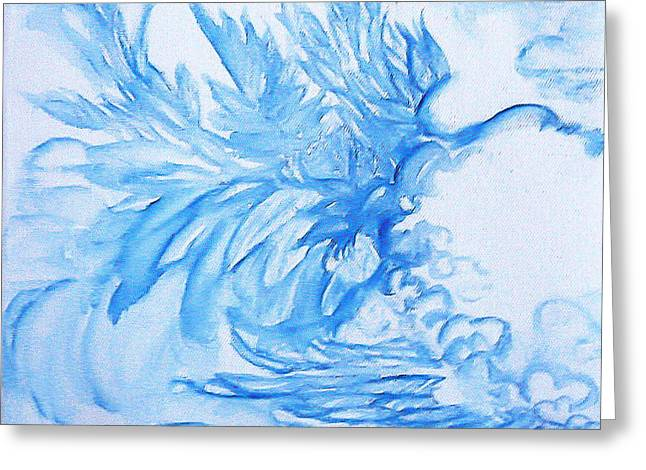 Heart Wing Greeting Card by Heather  Hiland