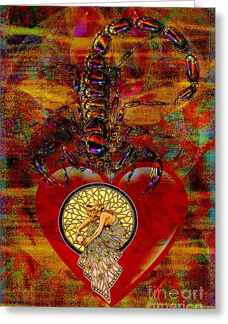 Heartache Greeting Card by Joseph Mosley