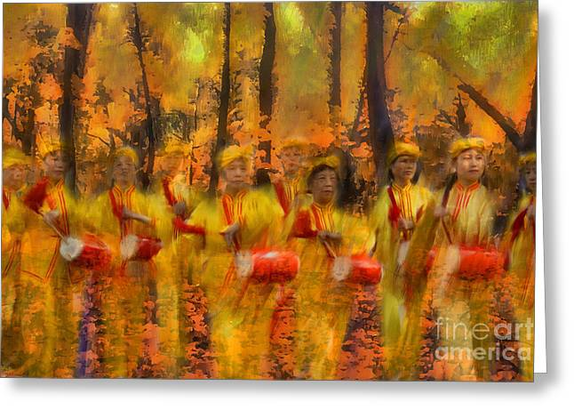 Heartbeat Of Autumn Greeting Card by Jeff Breiman
