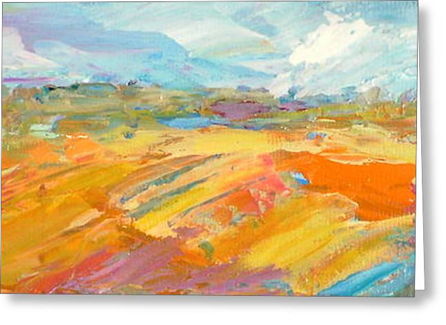 Heartland Series/ Ranchlands Greeting Card by Marilyn Hurst