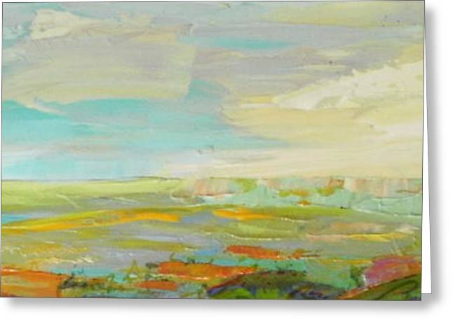 Heartland Series/ Springtime Greeting Card by Marilyn Hurst