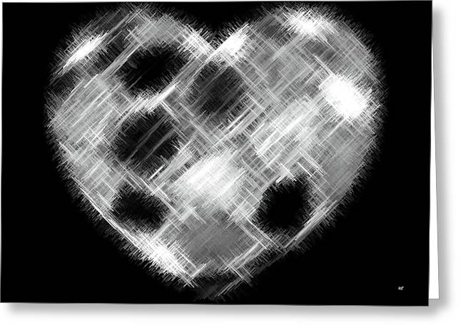 Heartline 10 Greeting Card by Will Borden
