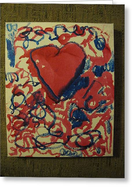 Hearts Entwined Greeting Card