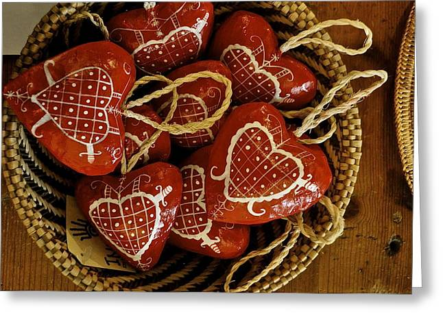 Hearts For Haiti  Greeting Card