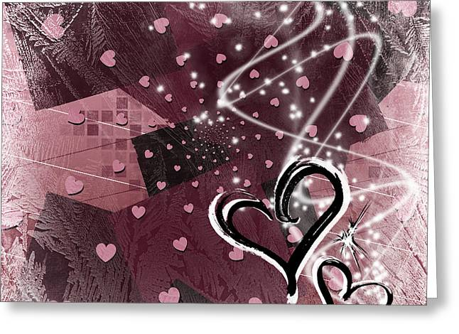 Hearts For Hearts 15 Greeting Card by Melissa Smith