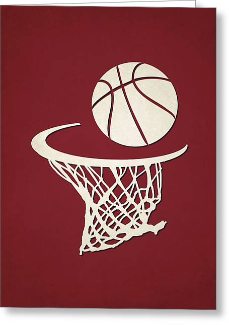 Heat Team Hoop2 Greeting Card