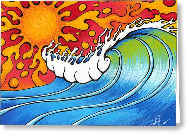 Heat Wave Greeting Card