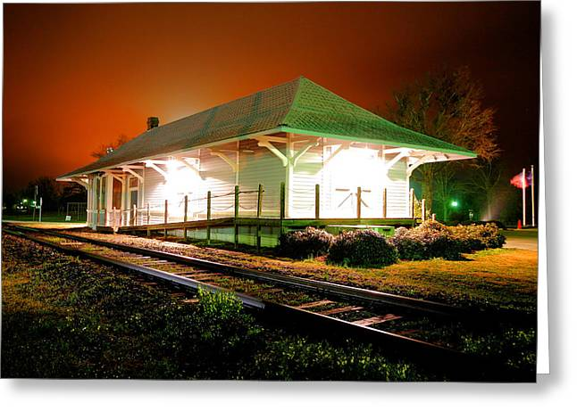 Heath Springs Depot Greeting Card