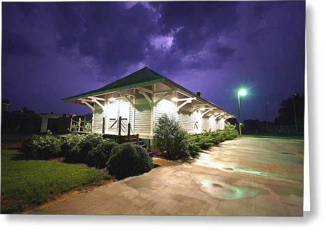 Heath Springs Railroad Depot Greeting Card