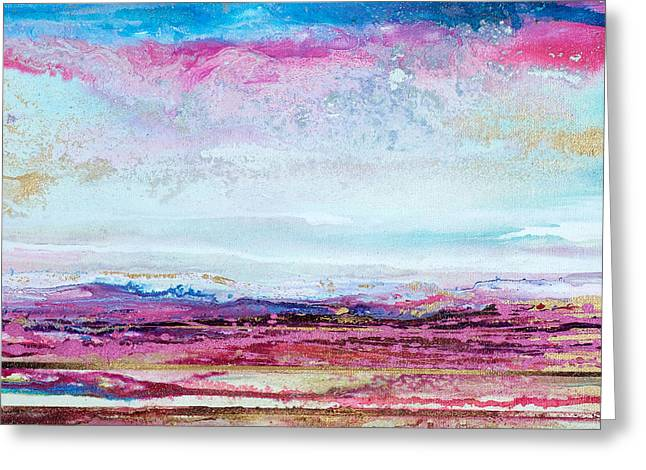 Heather And Mists On The Beacon No6 Greeting Card