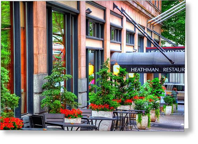 Heathman Restaurant 17368 Greeting Card