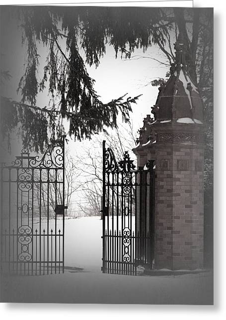 Greeting Card featuring the photograph Heaven Awaits by The Art Of Marilyn Ridoutt-Greene