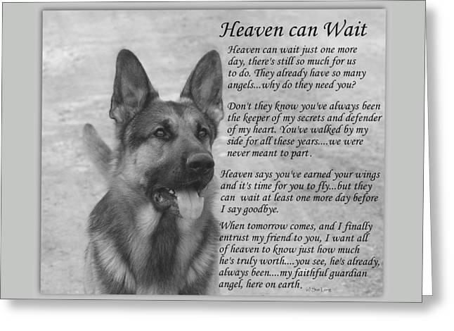 Heaven Can Wait Greeting Card
